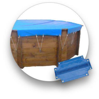 SUNBAY Bâche hiver piscine bois sunbay saint anne 5.25 m