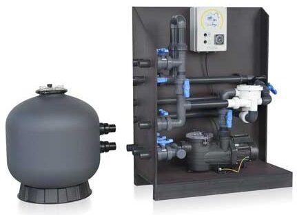 Solution Filtration All in Pal VipPool + électrolyse + régul PH