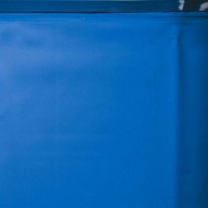 Gré-Pool Liner pour piscine Gré - 0.75 mm - 4.60 m de diamètre - Bleu adriatique