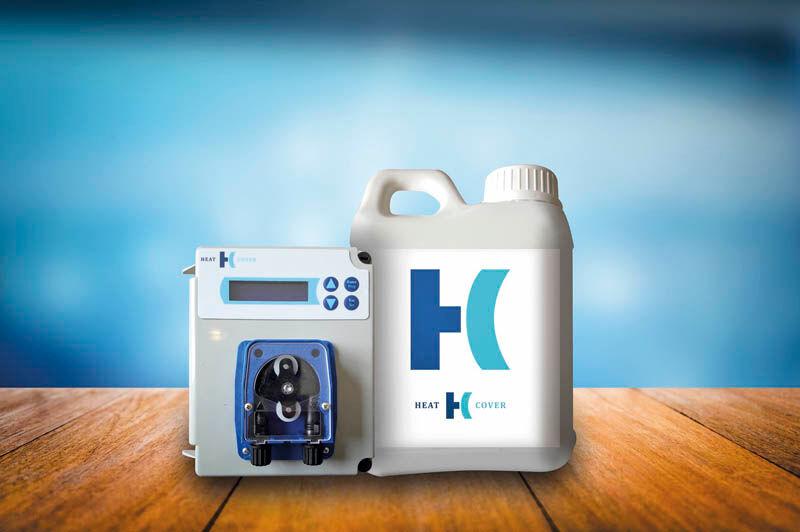 Bidon 5 L de HeatCover : produit liquide bâche invisible