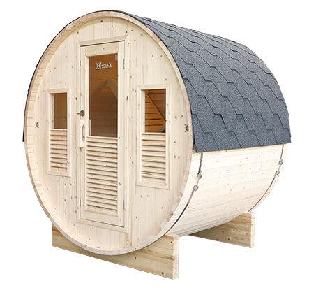 Sauna d'extérieur tonneau GAIA Bella