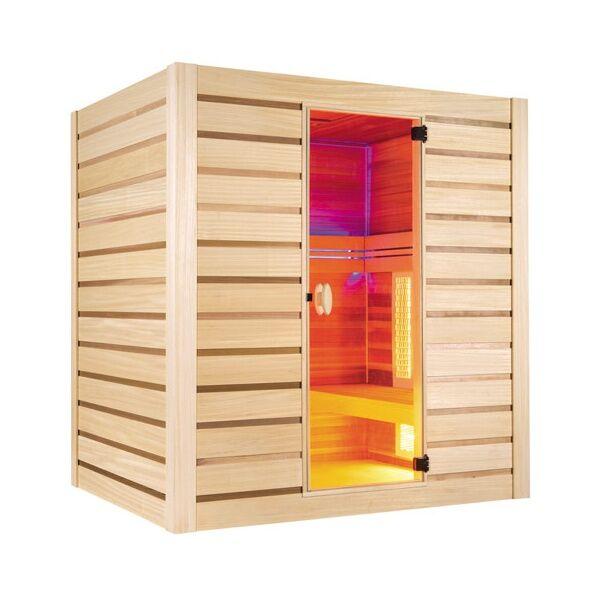 Holl's Sauna Hybride combi : vapeur et infrarouge