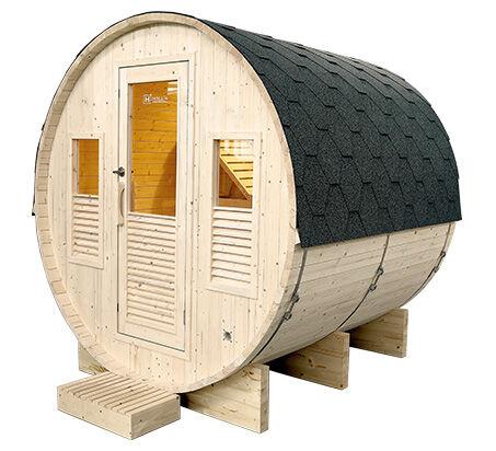 Sauna d'extérieur tonneau GAIA Oméga