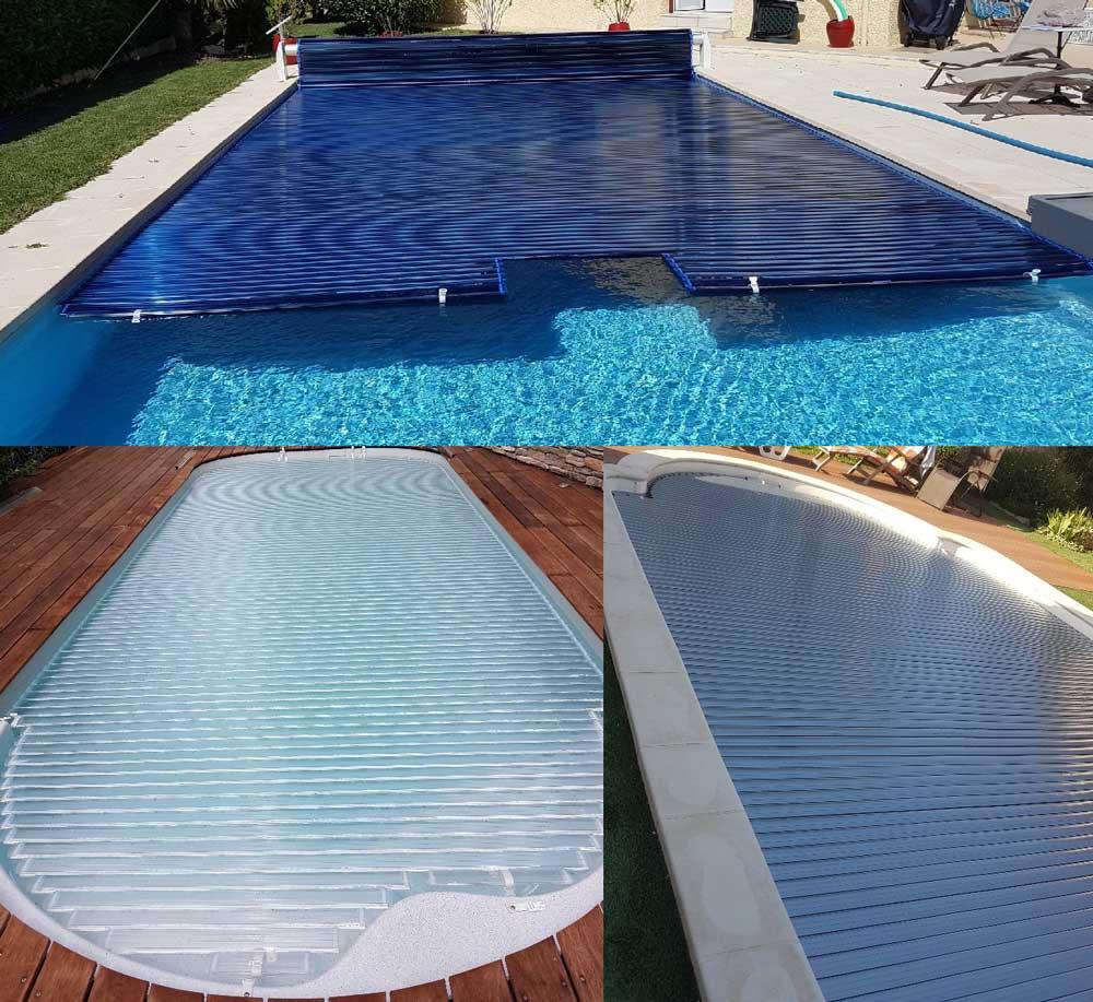 Distripool Lames Polycarbonates Distri Cover : Pour piscine 9.00 x 4.00 m