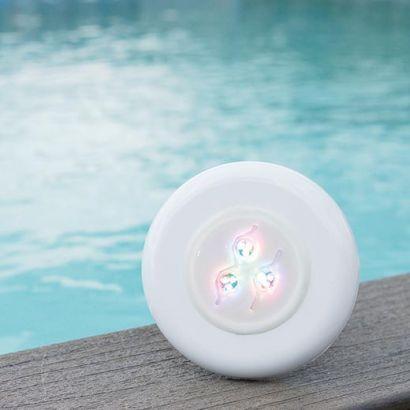 Mini projecteur à visser 3 LEDS : Star light - RGB couleur