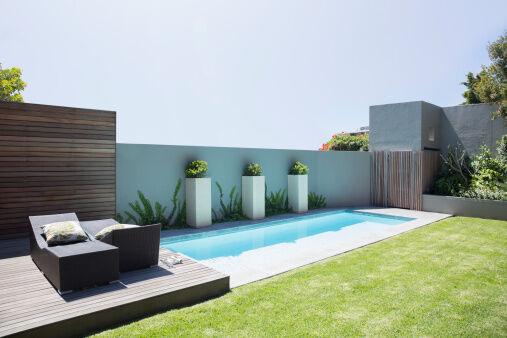 piscine en kit Luxe bloc polystyrène 10 x 5 x 1.50 m