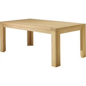 Table de séjour rectangulaire chêne clair L200 - Publicité
