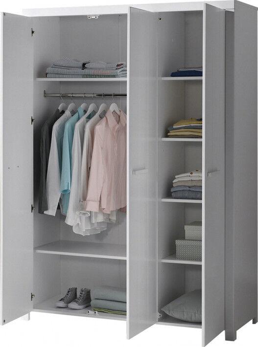 Armoire enfant blanc 3 portes – ERIK