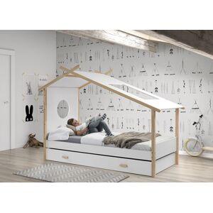 Tiroir lit enfant blanc - COCOON - Publicité