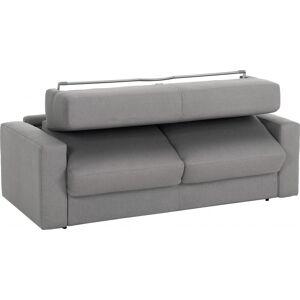 Canapé rapido 4 places convertible SAVOY tissu gris - Publicité