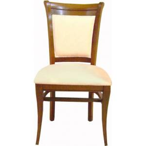 Chaise Louis Philippe merisier massif - Publicité