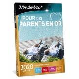 Wonderbox Coffret cadeau - Pour des parents en or - Séjour & week-end
