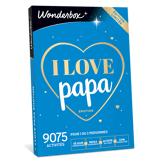 Wonderbox Coffret cadeau - I love Papa Émotion - Loisirs & sorties
