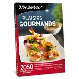 Wonderbox Coffret cadeau - Plaisirs gourmands - Restaurant & Gastronomie