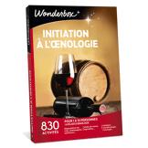 Wonderbox Coffret cadeau - Initiation à l'nologie - Restaurant & Gastronomie