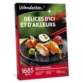 Wonderbox Coffret cadeau - Délices d'ici et d'ailleurs - Restaurant & Gastronomie