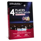 Wonderbox Coffret cadeau - 4 Places de spectacles Découverte - Cultur'In The City - Loisirs & sorties