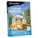 Wonderbox Coffret cadeau - 3 jours insolites - Séjour & week-end