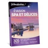 Wonderbox Coffret cadeau - Évasion spa et délices - Séjour & week-end