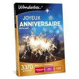 Wonderbox Coffret cadeau - Joyeux anniversaire Pétillant - Loisirs & sorties