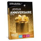 Wonderbox Coffret cadeau - Joyeux anniversaire Émotion - Séjour & week-end