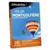 WONDERBOX - Coffret cadeau - Vol en montgolfière et activités dans les airs - Sport & Aventure
