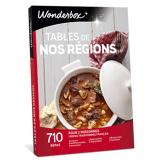 Wonderbox Coffret cadeau - Tables de nos régions - Restaurant & Gastronomie