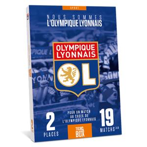 Wonderbox Coffret cadeau - OL - Olympique Lyonnais - Séjour & week-end - Publicité