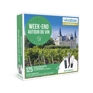 Wonderbox Coffret cadeau - Week-end autour du vin - Séjour & week-end - Publicité