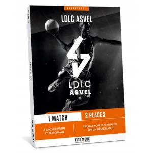 Wonderbox Coffret cadeau - LDLC ASVEL - Sport & Aventure - Publicité
