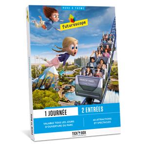 Wonderbox Coffret cadeau - Futuroscope - Séjour & week-end - Publicité