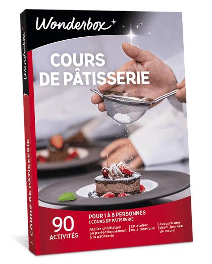 Wonderbox Coffret cadeau - Cours de pâtisserie - Restaurant & Gastronomie