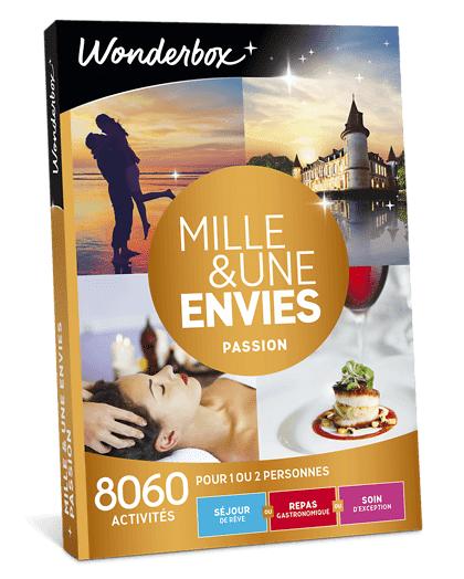 Wonderbox Coffret cadeau - Mille & une envies Passion - Beauté & bien-être
