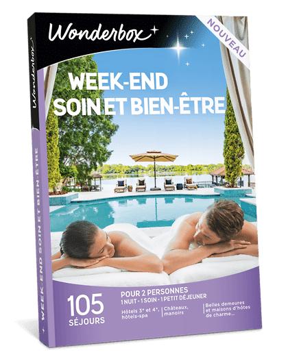 Wonderbox Coffret cadeau - Week-end soin et bien-être - Séjour & week-end