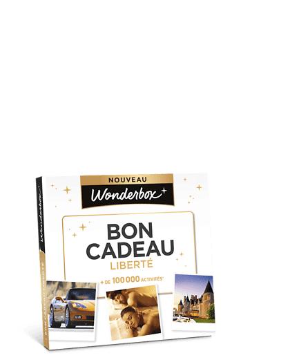 Wonderbox Coffret cadeau - Happy Bon Cadeau Liberté - Restaurant & Gastronomie