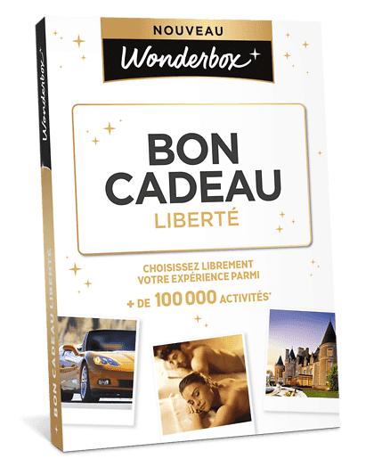 Wonderbox Coffret cadeau - Bon Cadeau Liberté - Restaurant & Gastronomie