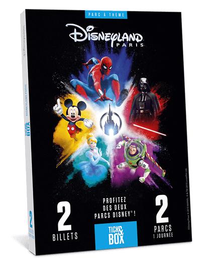 Wonderbox Coffret cadeau - Disneyland Paris 1 jour / 2 parcs - Aucune