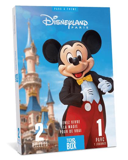 Wonderbox Coffret cadeau - Disneyland Paris 1 jour / 1 parc - Aucune