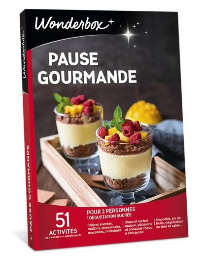 Wonderbox Coffret cadeau - Pause Gourmande - Restaurant & Gastronomie