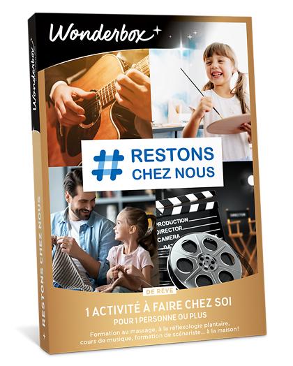 Wonderbox Coffret cadeau - # Restons chez nous - de rêve - Sport & Aventure