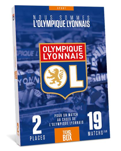 Wonderbox Coffret cadeau - OL - Olympique Lyonnais - Séjour & week-end