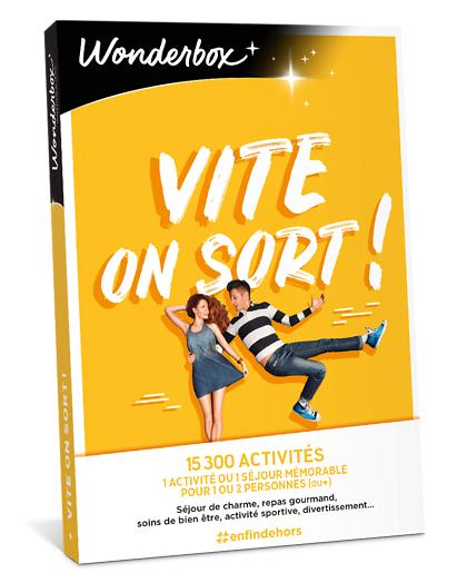 Wonderbox Coffret cadeau - Vite... on sort ! - Séjour & week-end