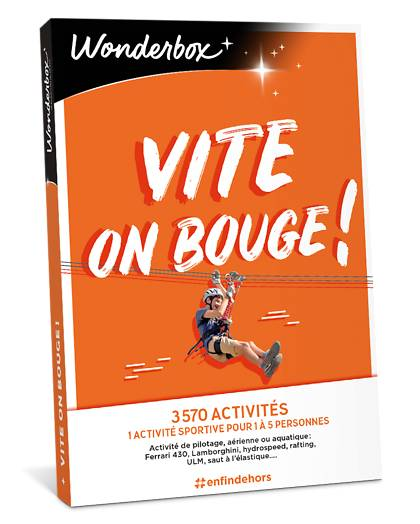 Wonderbox Coffret cadeau - Vite... on bouge! - Restaurant & Gastronomie