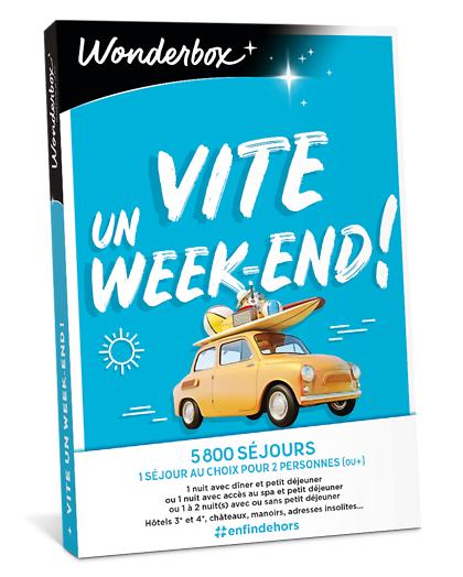 Wonderbox Coffret cadeau - Vite... un week-end! - Séjour & week-end