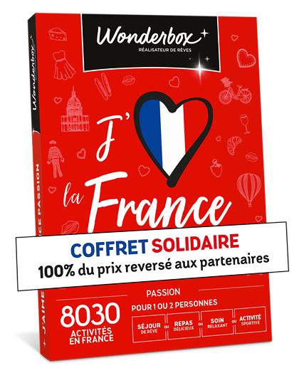 Wonderbox Coffret cadeau - J'aime la France Passion - Beauté & bien-être