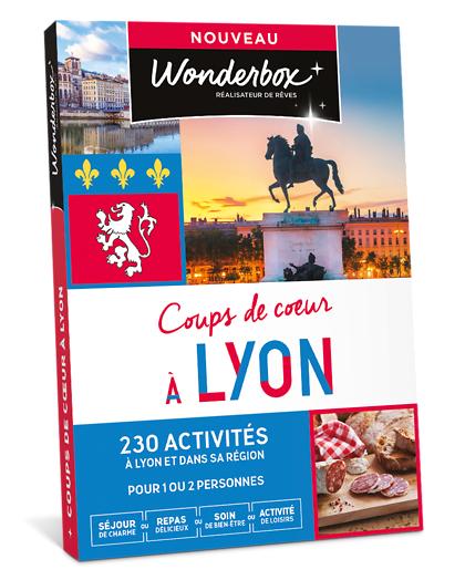 Wonderbox Coffret cadeau - Coups de cur à Lyon - Beauté & bien-être
