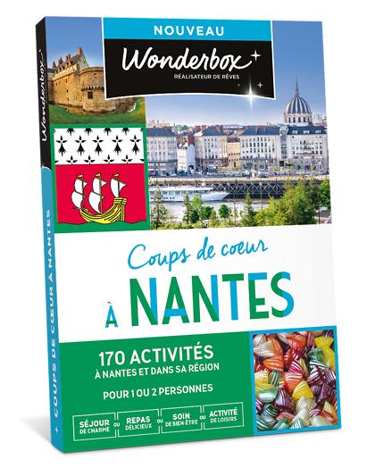 Wonderbox Coffret cadeau - Coups de cur à Nantes - Beauté & bien-être