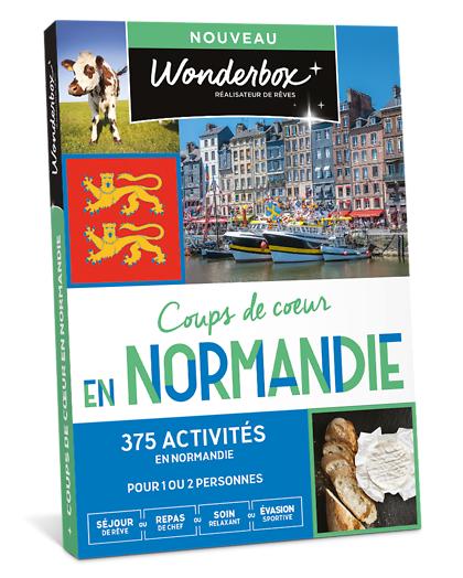 Wonderbox Coffret cadeau - Coups de cur en Normandie - Beauté & bien-être