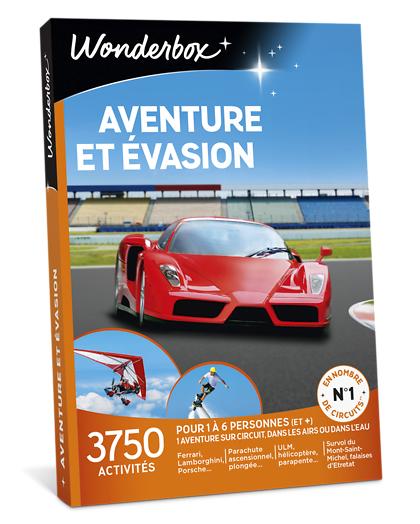 Wonderbox Coffret cadeau - Aventure et évasion - Sport & Aventure