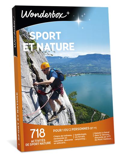 Wonderbox Coffret cadeau - Sport et nature - Sport & Aventure